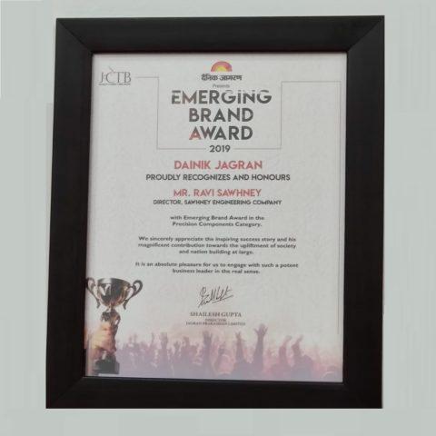 Jagran Emerging Brand Award 2019